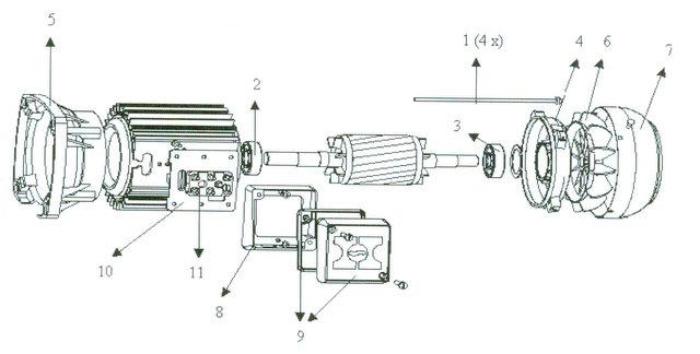 Condensateur moteur hanning 12 mf 210109004 mat riel de for Condensateur moteur piscine